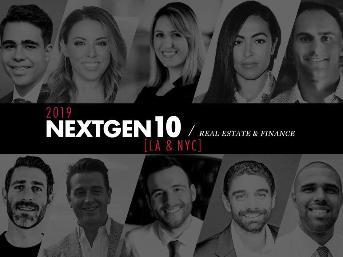 NextGen10 Real Estate Awards 2019
