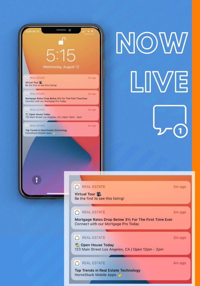 Custom Push Notifications Now Live