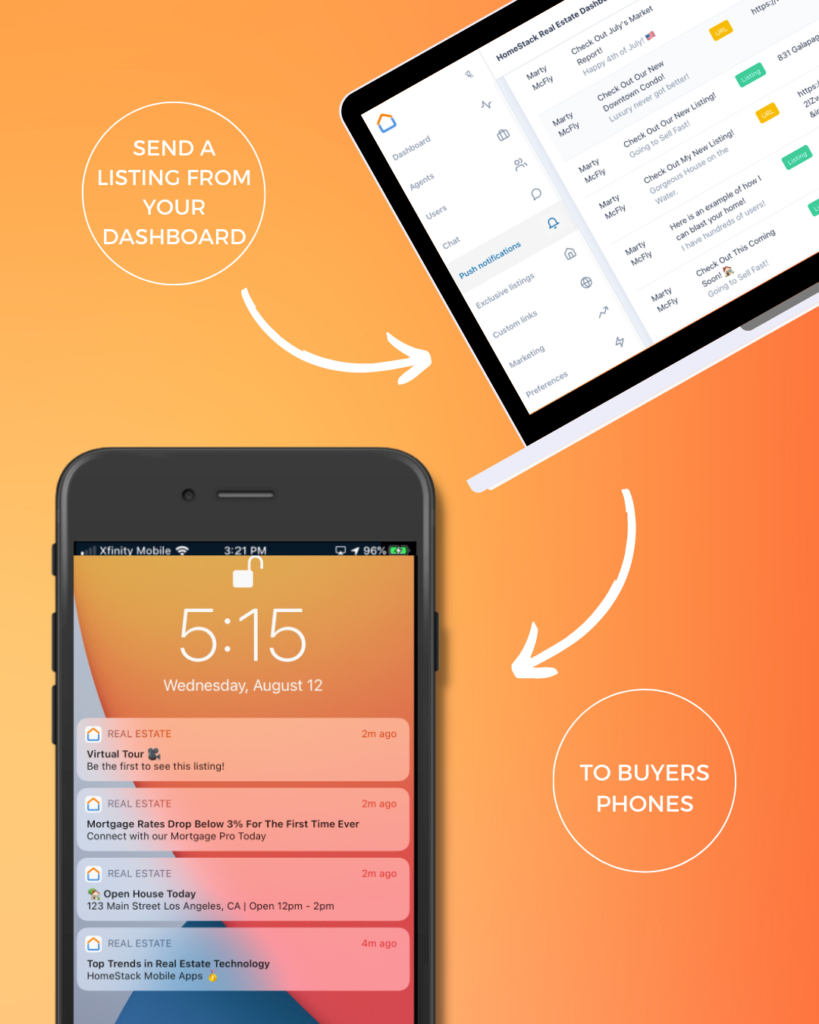 Our Pro clients can, deliver personalized push notifications to your users' iOS and Android devices